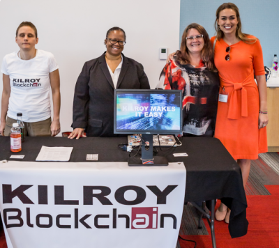 Kilroy Blockchain Selected for Oracle Startup Program